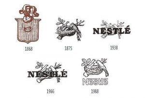 Logo Nestle giai đoạn phát triển