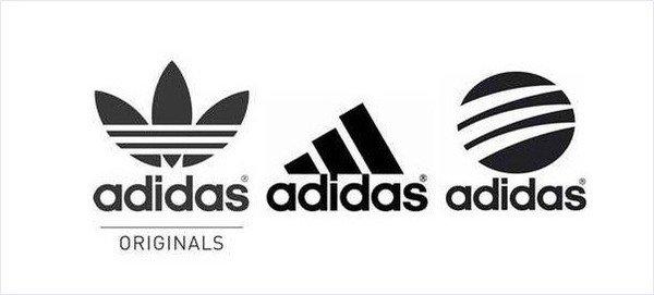logo adidas thương hiệu thể thao
