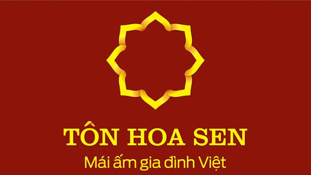logo Tôn Hoa Sen