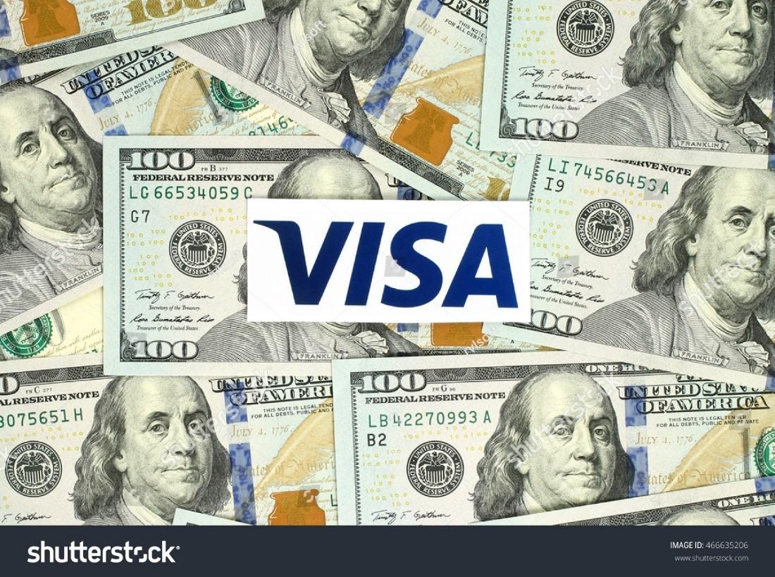 logo visa thanh toán toàn cầu